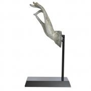 Estatueta Mão Bege Gyan Up 46 Cm