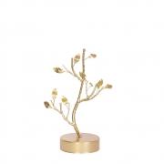 Estatueta Ramo Dourado P 24 Cm