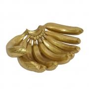 Estatuetas Bananas Douradas 31 Cm