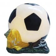 Luminária Infantil Led Bola Futebol 13,5 Cm