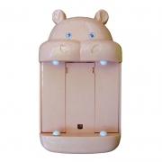 Porta Caixa de Lenço Hipopótamo 16 Cm
