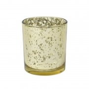 Vasinho Dourado Lumen Coppa P 8 Cm