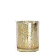 Vasinho Dourado Lumen Coppa X 10 Cm