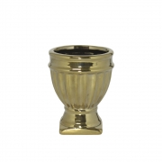 Vasinho Dourado Verona G 10 Cm