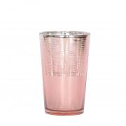 Vasinho Rosa Lumen Cone 11 Cm