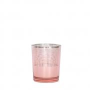 Vasinho Rosa Lumen Cone P 7 Cm