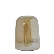 Vaso Âmbar Ampoule M 18,5 Cm