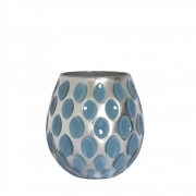 Vaso Azul Prema P 17 Cm