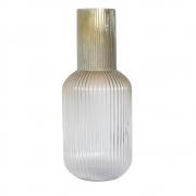 Vaso Degradê Champagne Frasc G 44 Cm
