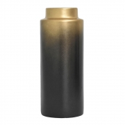 Vaso e Dourado Preto Explosion G 29,5 Cm