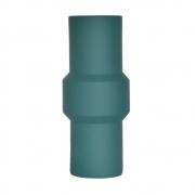 Vaso Verde Petróleo Clay G 28 Cm