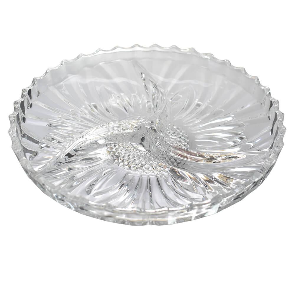 Petisqueira de Cristal Lubeck 25 Cm