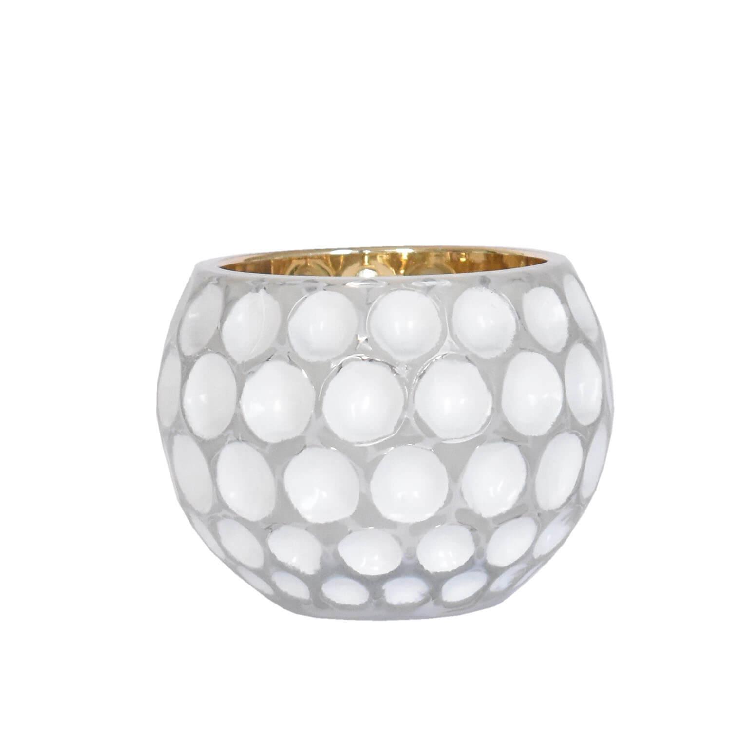 Vasinho Branco Lumen Lux M 8 Cm