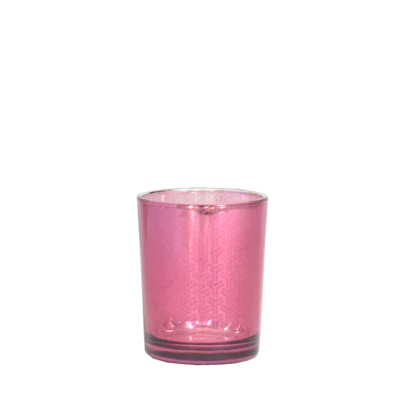 Vasinho Rosa Lumen Barbera 7 Cm
