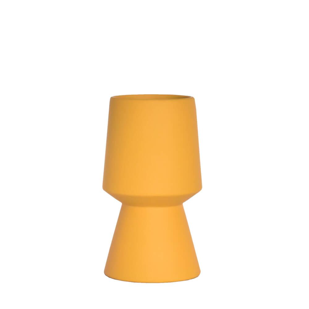Vaso Amarelo Graff P 20 Cm
