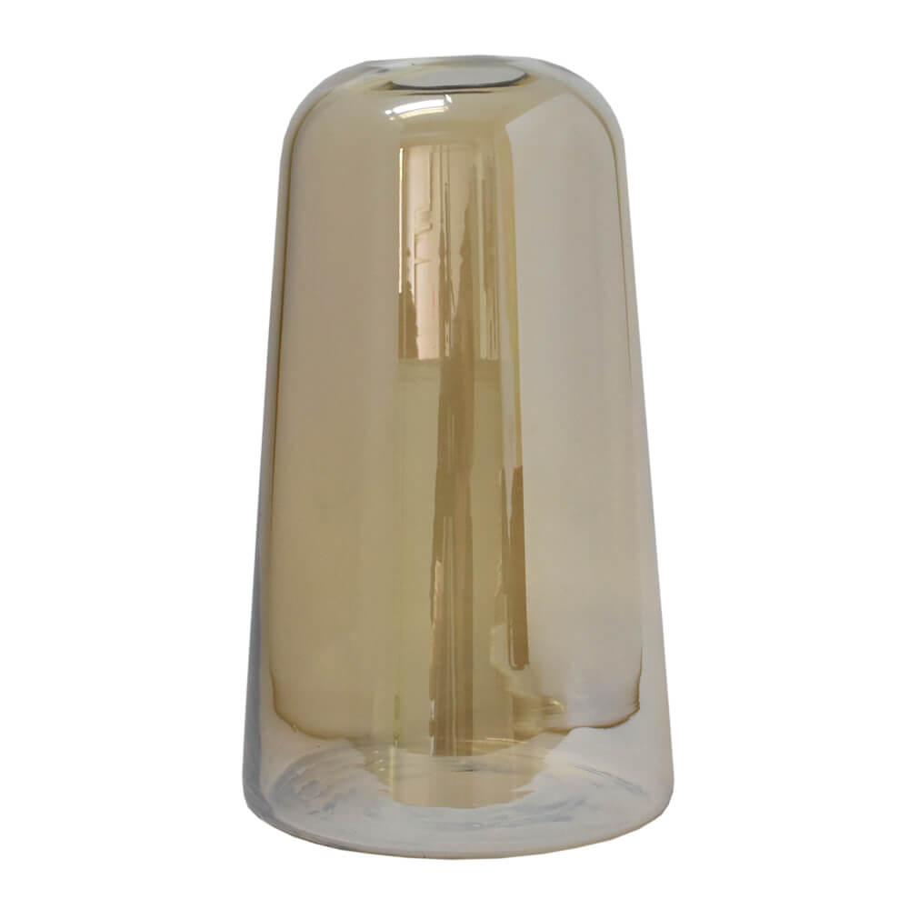 Vaso Âmbar Ampoule G 27 Cm