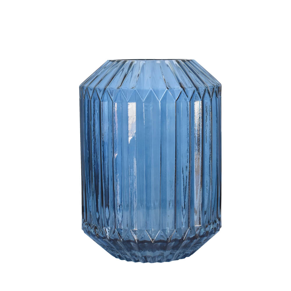 Vaso Azul Norwich G 25 Cm