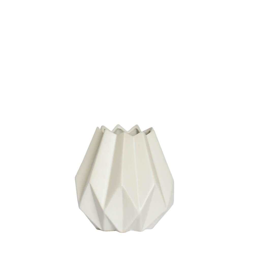 Vaso Branco Falc 14 Cm