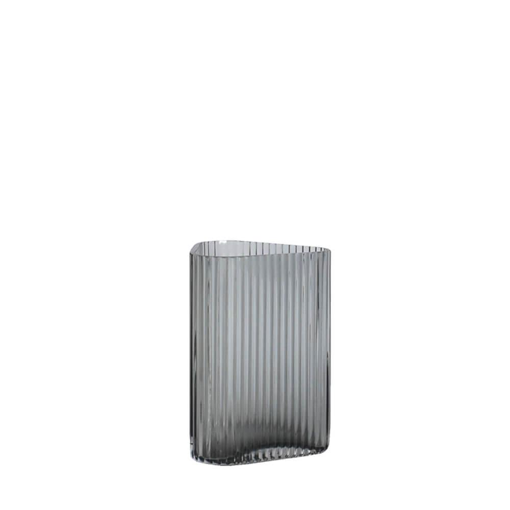 Vaso Cinza Quantum P 15 Cm