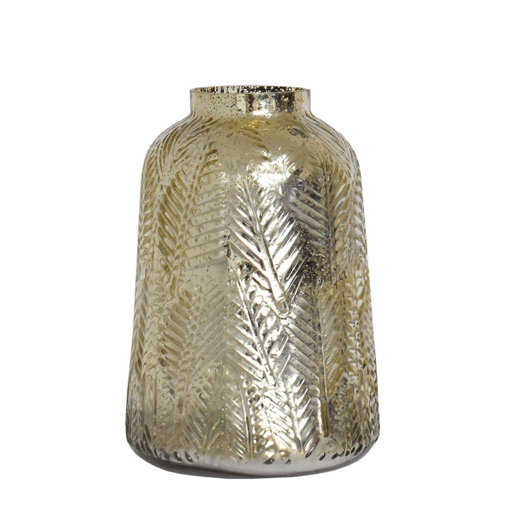 Vaso Dourado Index 25 Cm