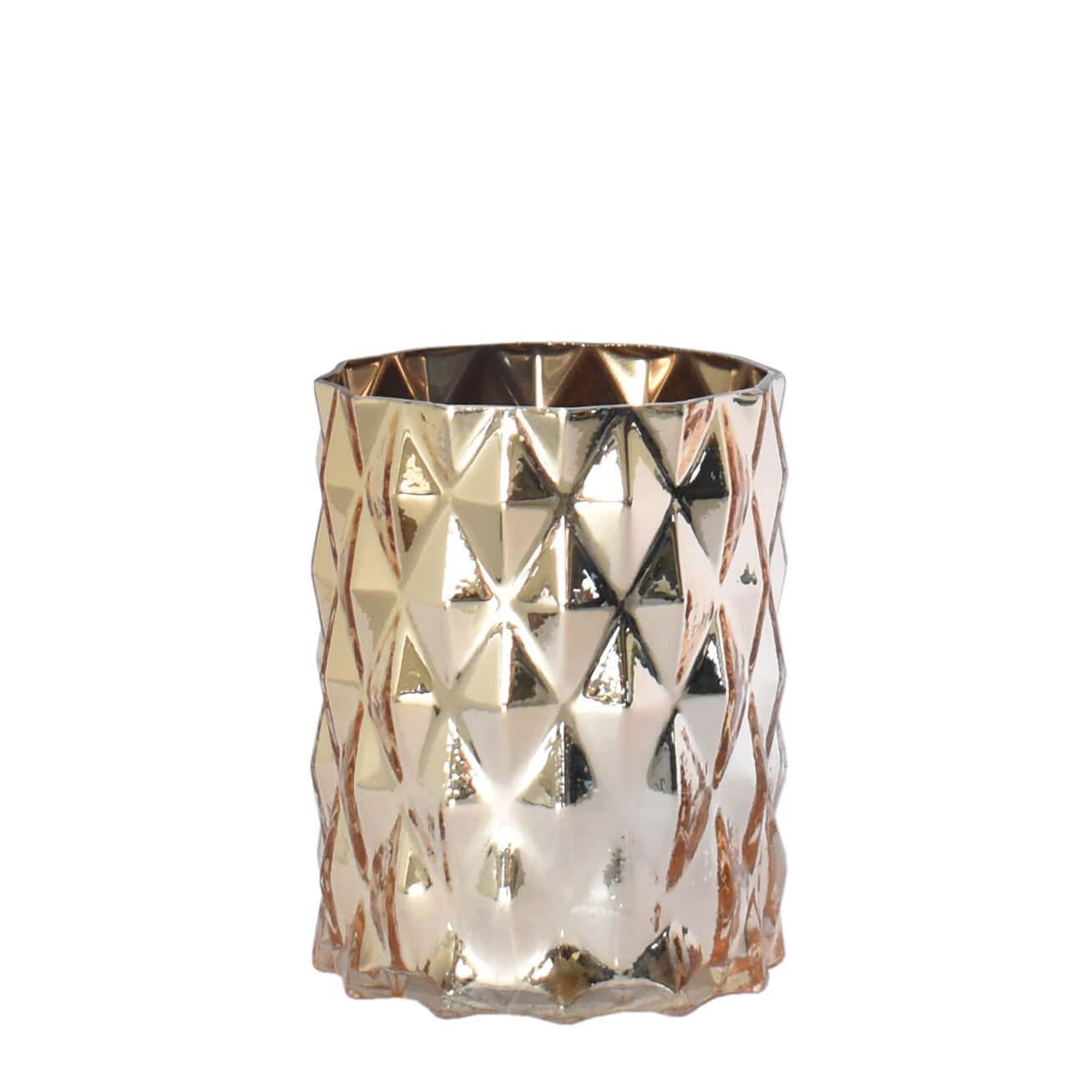 Vaso Dourado Riccordi P 15 Cm
