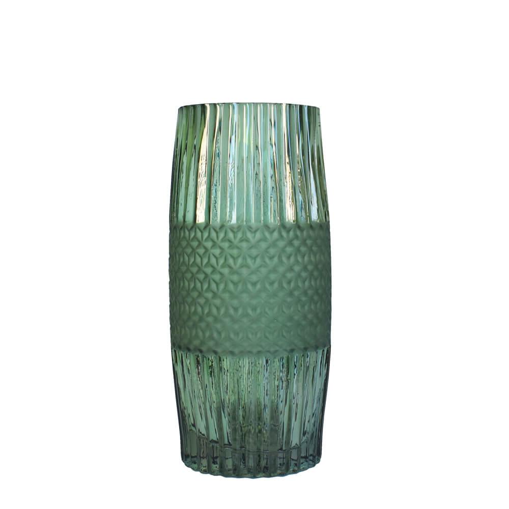 Vaso Verde Absalon Fosc M 29,5 Cm