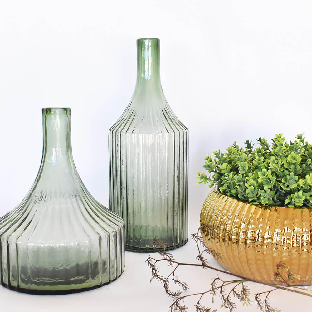 Vaso Verde Lauer P 25 Cm