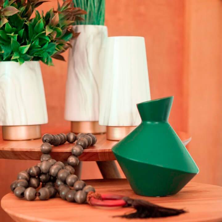 Vaso Verde Moody P 18 Cm