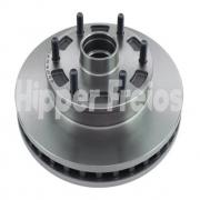 DISCO FREIO DIANT VENTIL. C/ CUBO S10 4X2 HF56 HIPPER FREIOS
