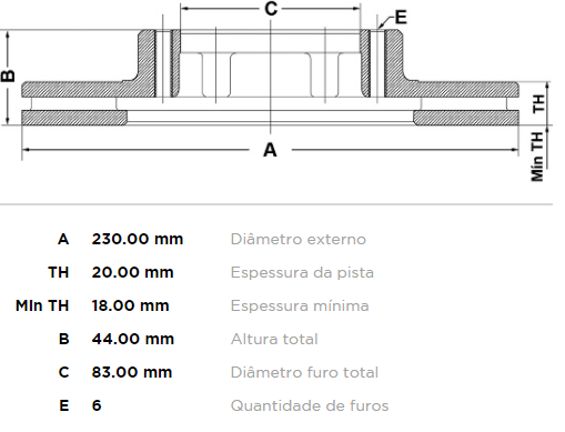 DISCO FREIO DIANT VENTIL PAMPA DEL REY BELINA BD2580 FREMAX