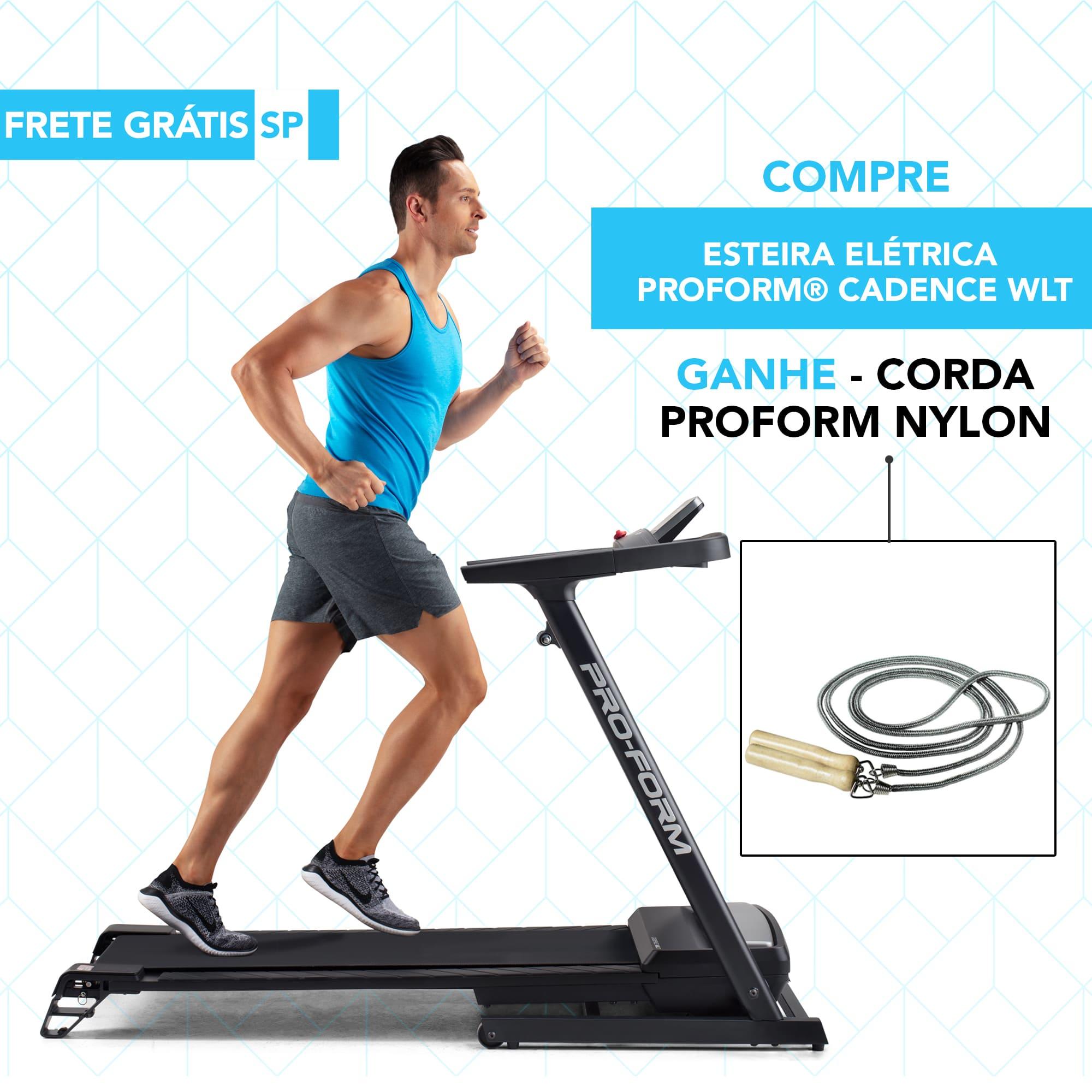 Compre Esteira Elétrica ProForm® Cadence WLT e ganhe Corda ProForm Nylon