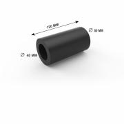 TUBO DE LIGACAO 40 X 50 X 120MM BORRACHA