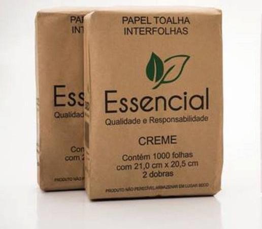 PAPEL TOALHA CREME ESSENCIAL 23X21