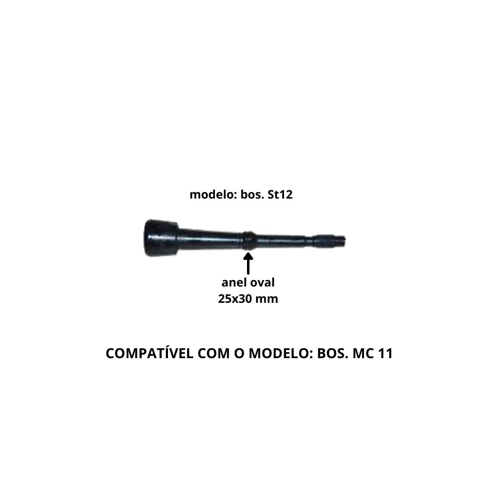 TETEIRA INSUFLADOR INABOR BOS.MC11 DE LAVAL - CONJ C/ 4