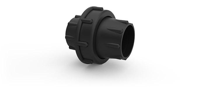 """UNIAO TUBULACAO INOX 2"""" 1/2 para cano 63 mm"""