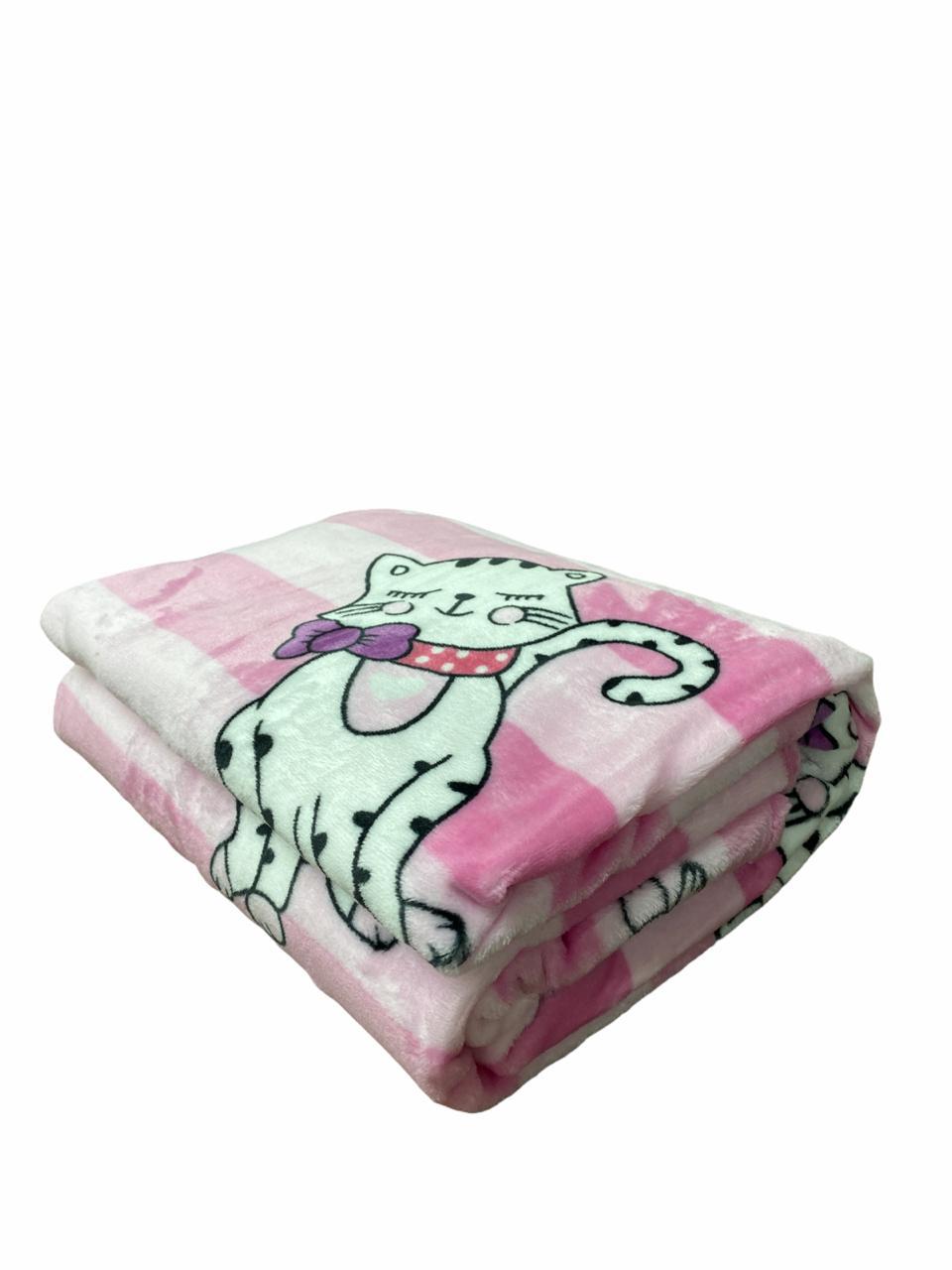 Cobertor Flannel Toque de Seda Kids - Etruria