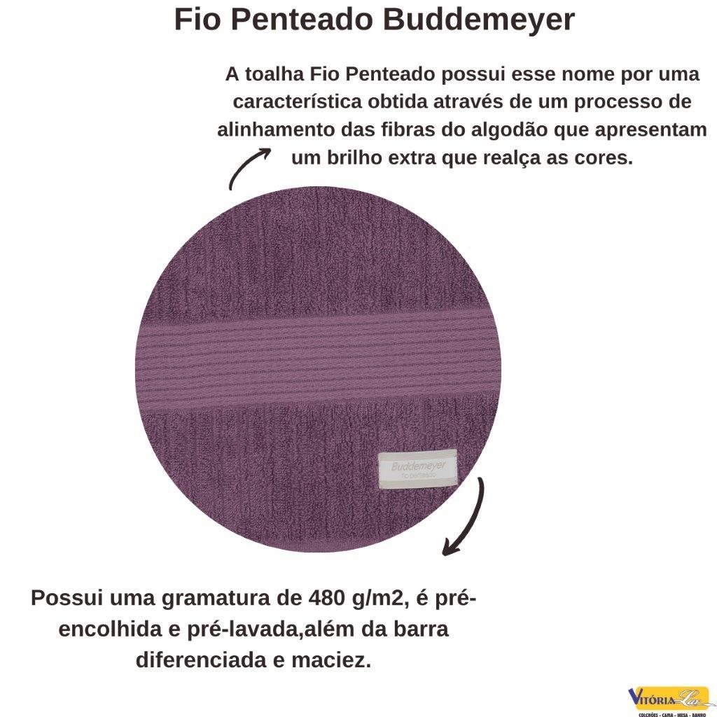 Jogo de Banho Gigante E Rosto 2 peças Fio Penteado Buddemeyer Muito Macia E Felpuda