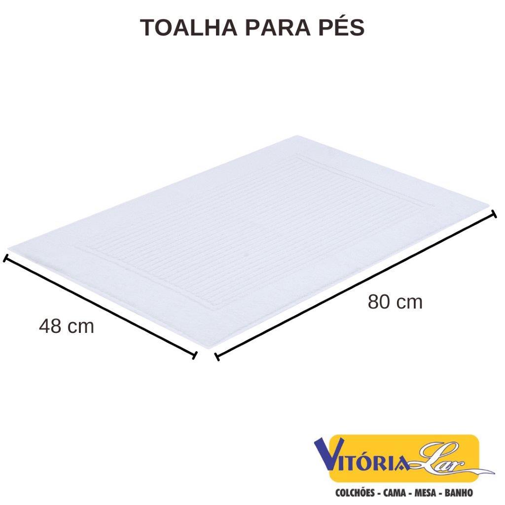 Jogo De Toalhas 4 Peças (2B+2R) Banho Dual Air Buddemeyer - 70 x 140