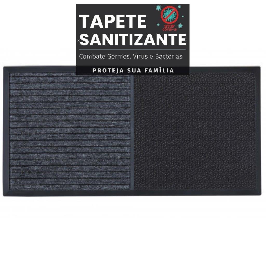Kit Tapete Sanitizante e Secante Max 2 Em 1 Kapazi