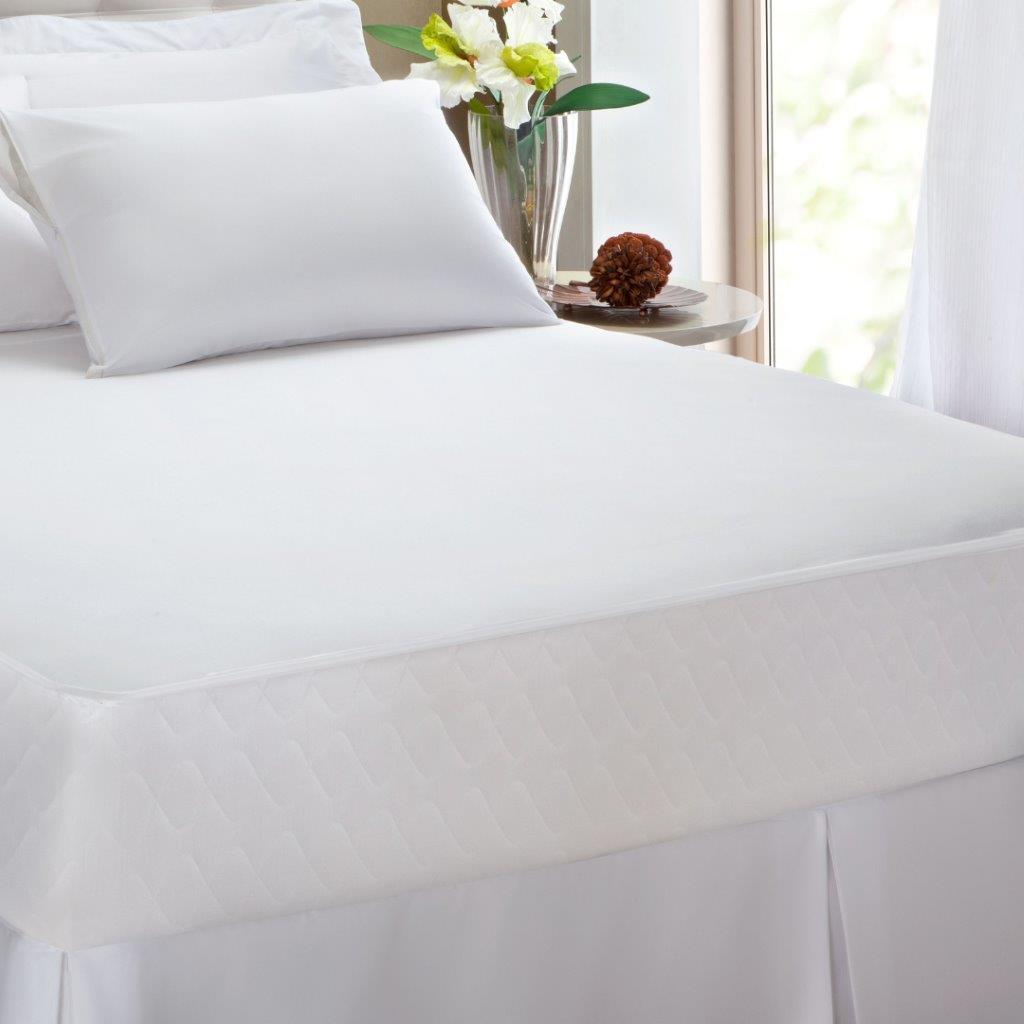 Kit 2 Unidades Protetor de Travesseiro Malha Impermeável Kacyumara 100% Algodão Antibacteria