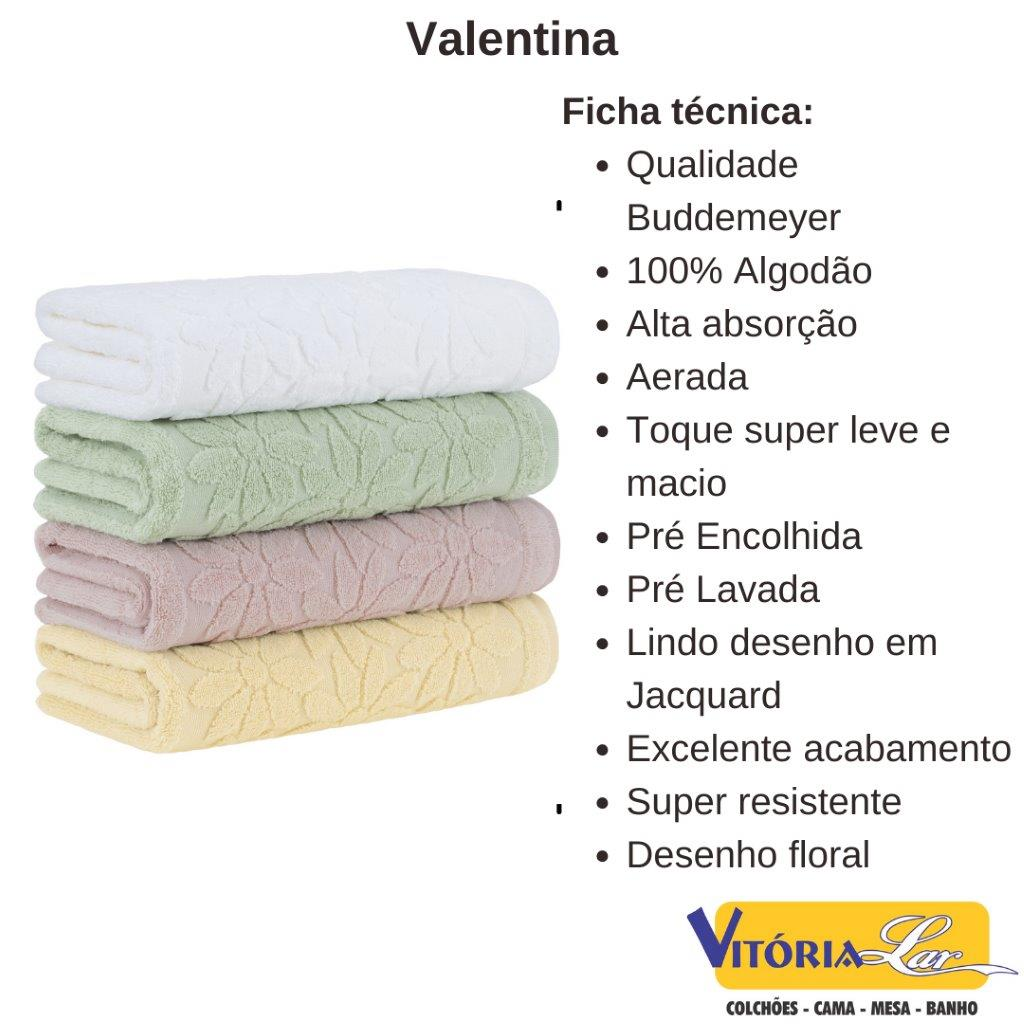Toalha De Rosto Valentina Buddemeyer - 48 x 80
