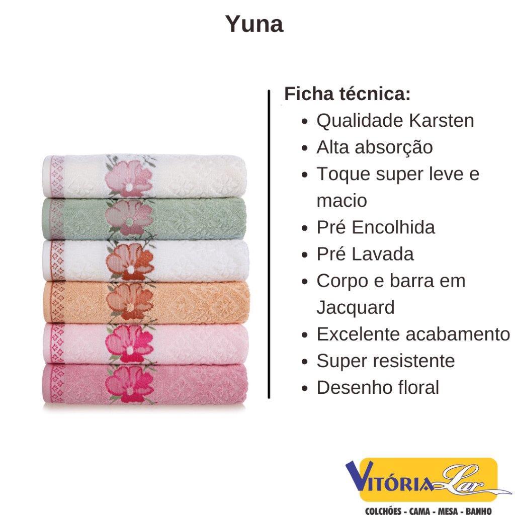 Toalha Para Pés Yuna Juliet 48x70 - Karsten