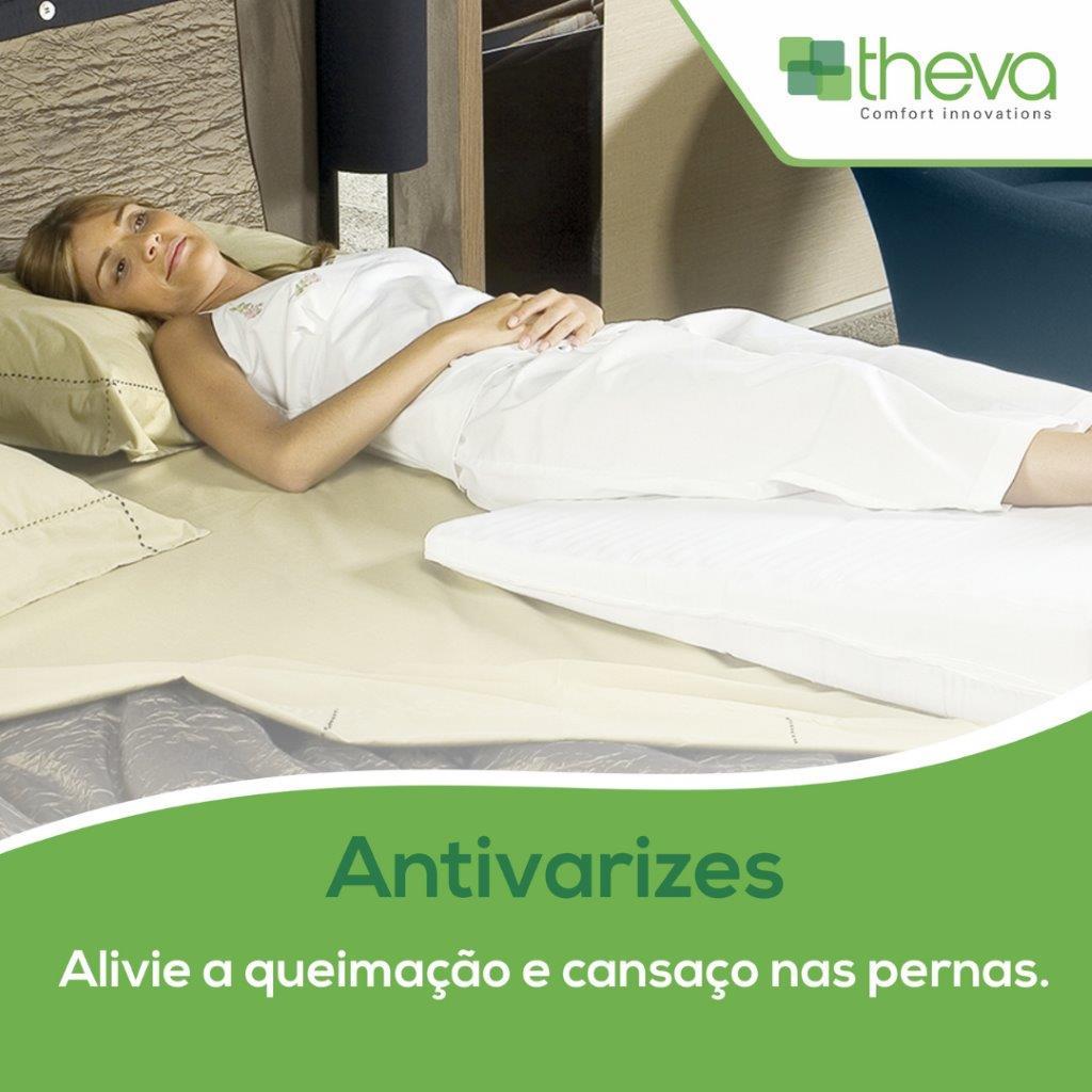 Travesseiro Latexlux Cervical 50X70cm 100% Látex Natural Theva