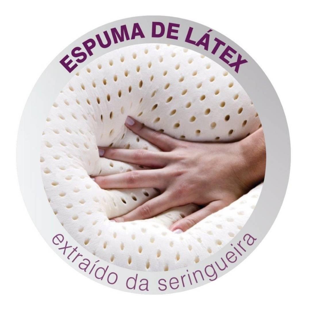 Travesseiro Real Látex 50x70x14cm Duoflex