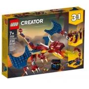 LEGO CREATOR FIRE DRAGON 234PCS 31102