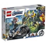 LEGO VINGADORES EM SPEEDER BIKE 76142
