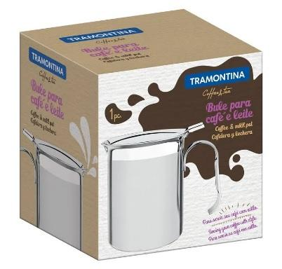BULE TRAMONTINA INOX CAFE/LEITE