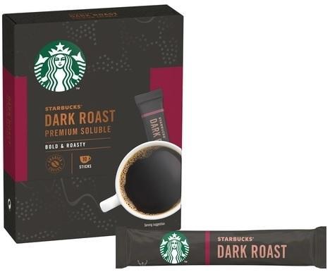 CAFE STARBUCKS 23G DARK ROAST