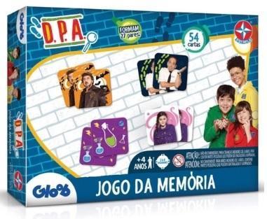 JOGO MEMORIA ESTRELA DPA