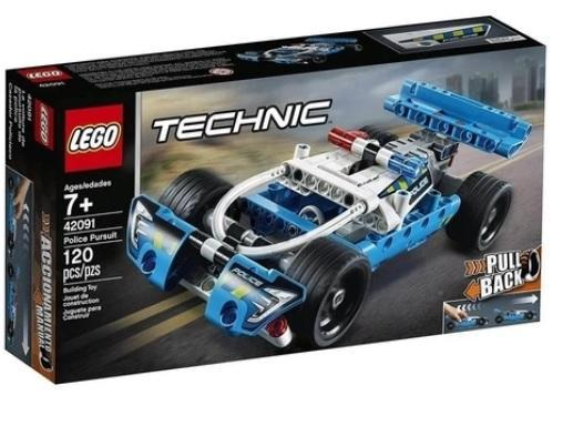 LEGO TECHNIC PERSEGUICAO POLICIAL 42091